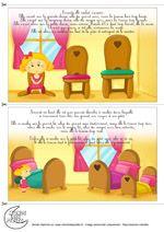 Histoire de Boucles d'or et les 3 ours pour les enfants
