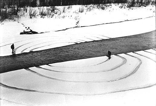 Dennis Oppenheim - Annual Rings - 1968  http://www.dennis-oppenheim.com