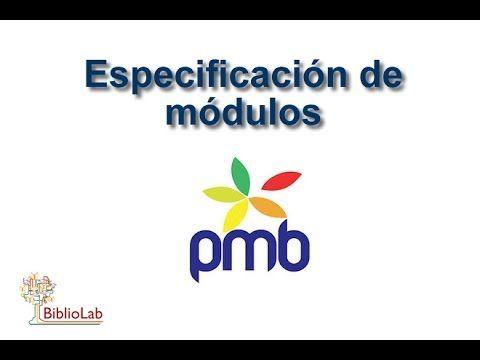 PMB: módulosBiblioLab   BiblioLab