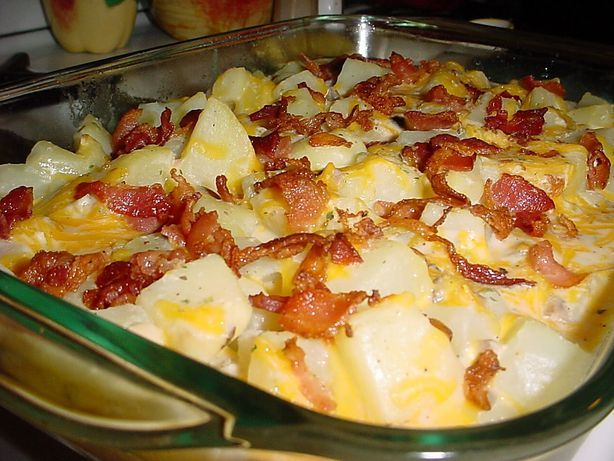 Ranch Potatoes. --- Just about everything about this recipe is off my diet, BUT, I would love to make it, looks like my family would love.