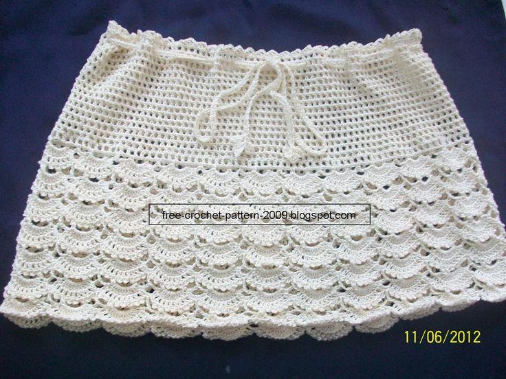 12 best Free Crochet Dresses & Skirts Patterns images on Pinterest ...
