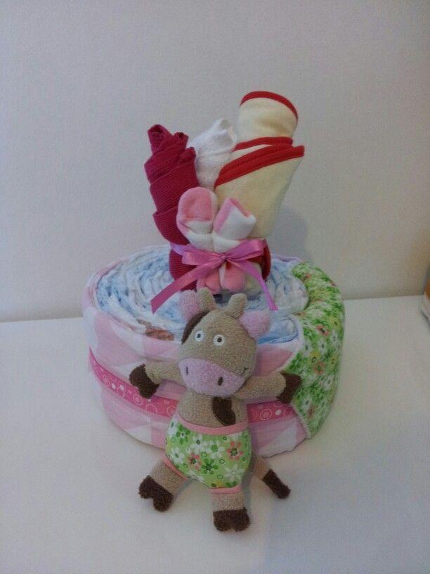 1 tier nappycake