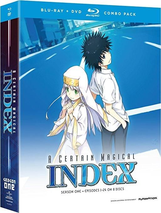 Micah Solusod & Monica Rial & Jerry Jewell-A Certain Magical Index: Complete Season 1