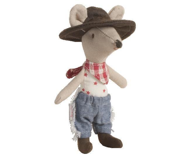JOJOmode - Maileg - Cowboy Mouse