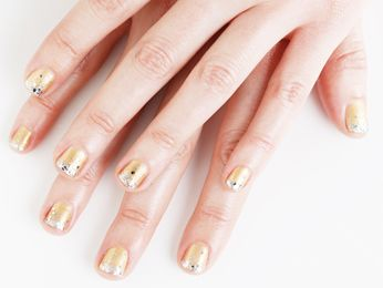 Champagne Nail Art How To - Champagne Nails Tutorial - Cosmopolitan