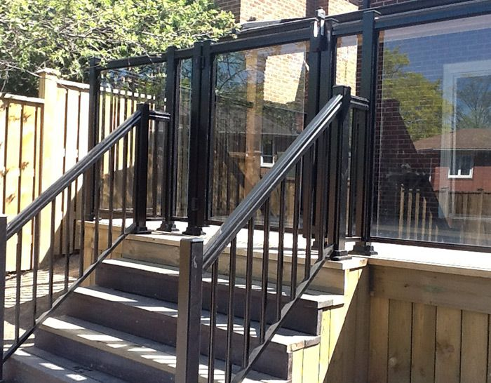 When It Comes To Choosing The Type Of Glass Railing System To Install In  Your Home