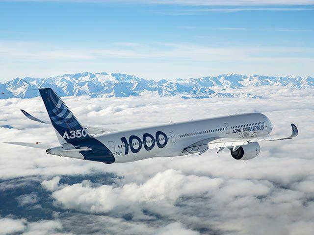 Livrée Qatar Airways pour l'Airbus A350-1000
