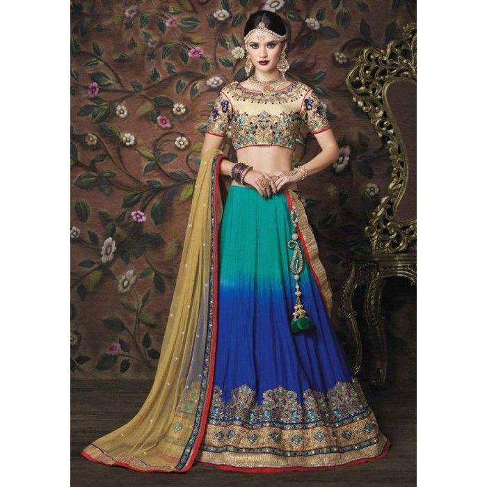 Exquisite Bridal Lehenga Choli - 11