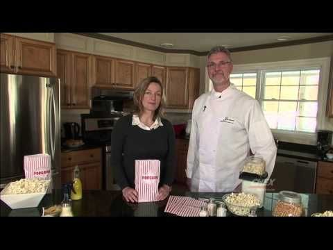 Alternative Methods for Flavouring Popcorn - In the kitchen with Chef Christopher Ennew at Ste Anne's Spa.