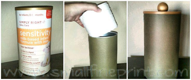 Toilet Paper Roll Holder DIY