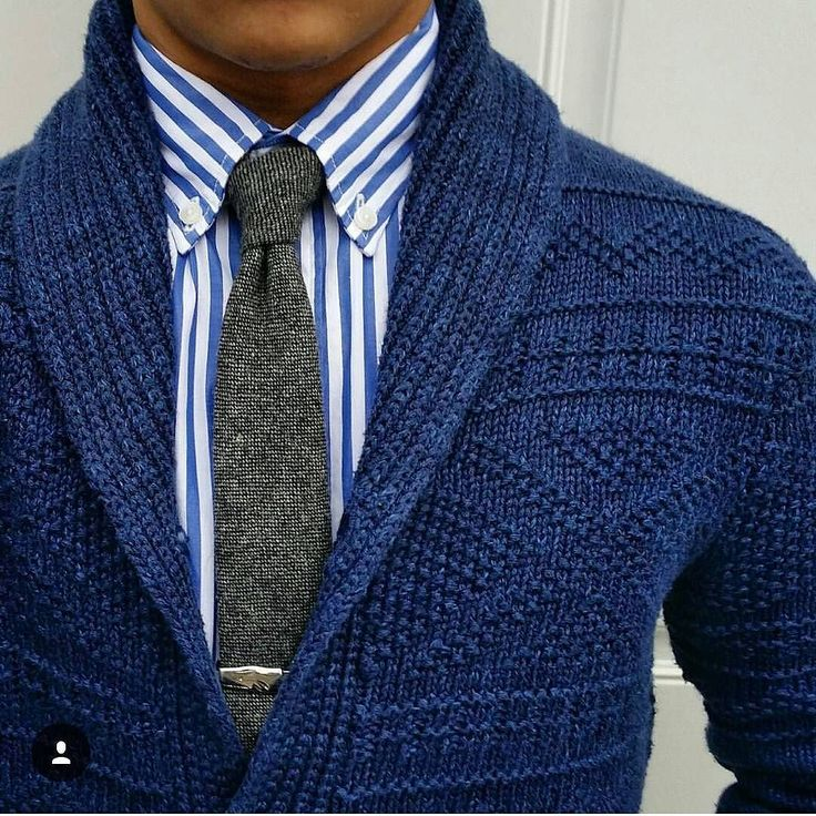 Chunky knit @thedressedchest