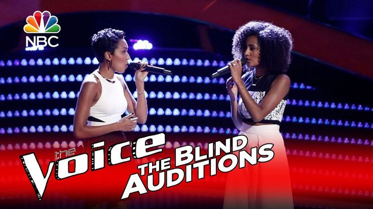 """The Voice 2016 Blind Audition - Whitney & Shannon: """"Landslide"""" Such a beautiful cover of this song"""