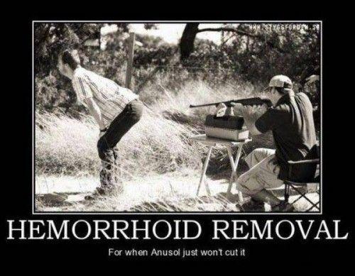 Hemorrhoid Humor | Hemorrhoid Removal | Joke Overflow - Joke Archive