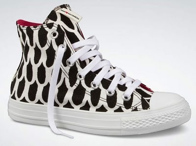 Marimekko x Converse. Spring 2011 collection.  [Cannot find anywhere now. darn it]