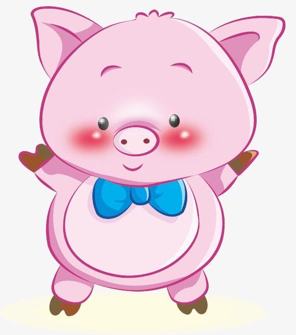 Pink Pig Pig Clipart Pig Pink