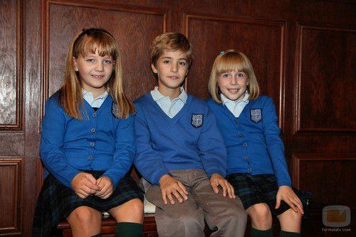 Los Tres niños - el-internado Photo