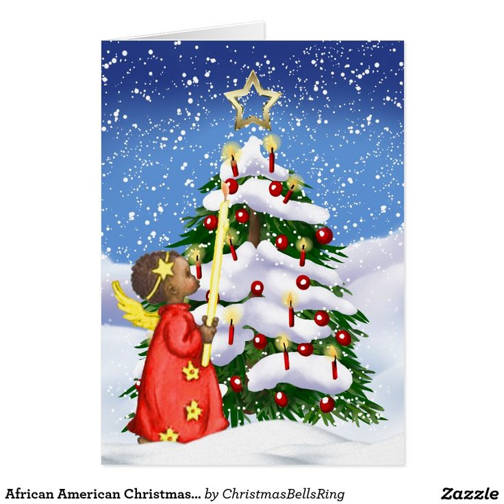 American Greeting Christmas Ornaments Part - 21: African American Christmas Card
