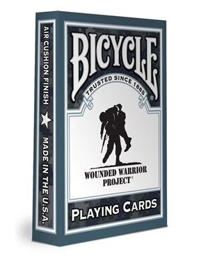 Bicycle Wounded Warrior Deck: Games Plays, Support Wounds, Bicycles Plays, Warriors Decks, Unique Products, Bicycles Wounds, Playing Cards, Wounds Warriors Projects, Plays Cards