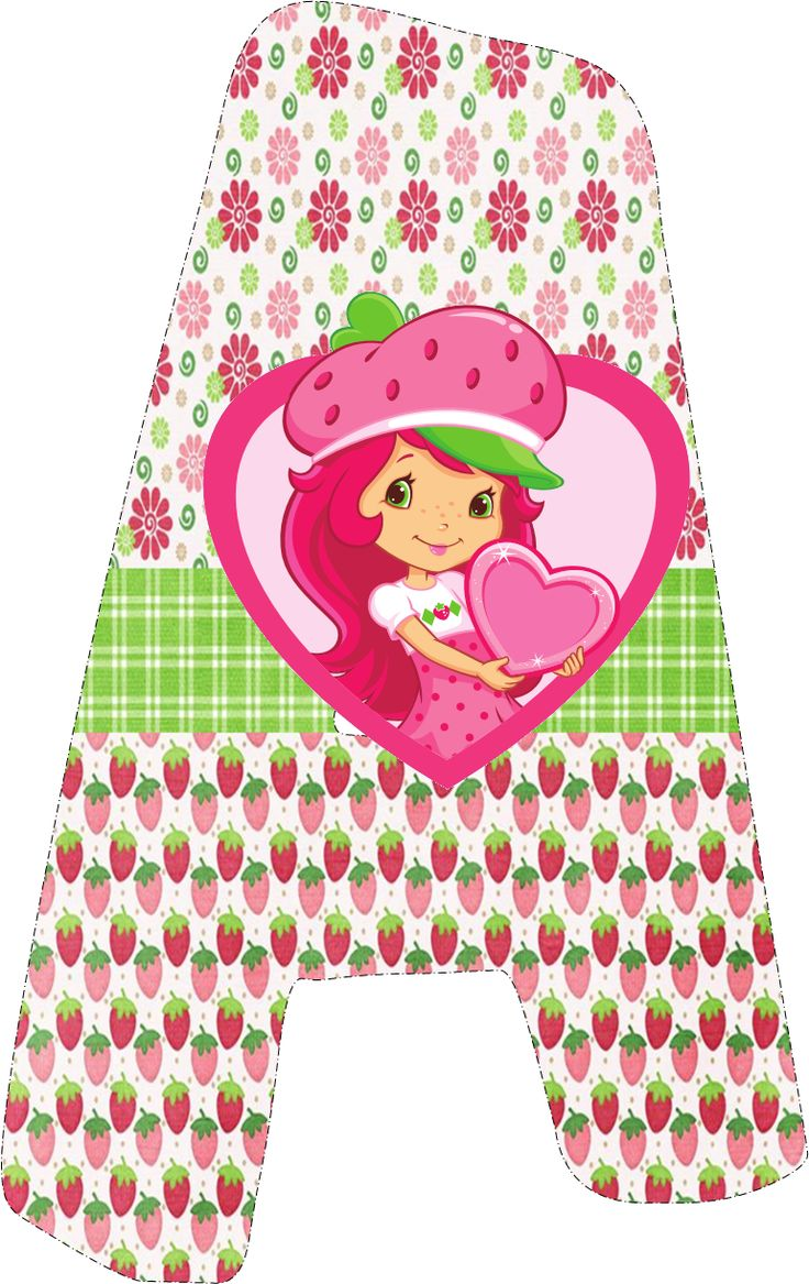 Strawberry Shortcake Free Printable Mini Kit. | Oh My Fiesta! in english