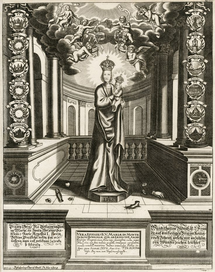 David Funck: Panna Maria Svatohorská (Heiligen Berg), 17. století