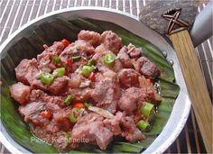 Pinoy Kitchenette: Pork Binagoongan sa Gata