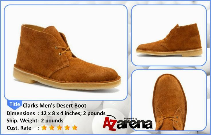 Best Deal of Clarks Men's Desert Boot Rust | mens dress boots | Clarks has been in business for over 100 years making very fine men's dress shoes in a variety of styles. Featuring a wide range of top-quality components, Clarks gives you the options you desire in the quality you demand.