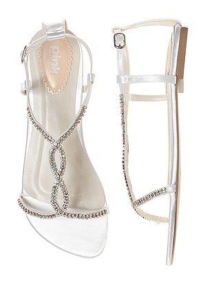 Heaven Dyeable Crystal Bridal Sandal http://www.dessy.com/accessories/Heaven-Dyeable-Crystal-Bridal-Sandal/