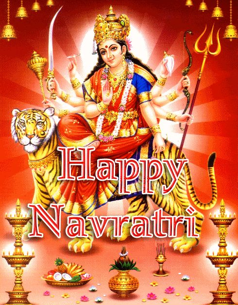 Top 10 Navratri gif images and greetings latest