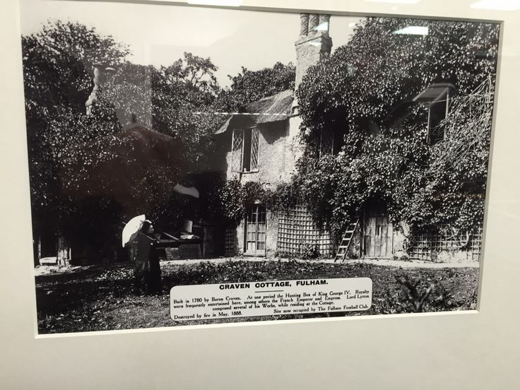 The original Craven Cottage