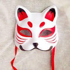 японская маска показалассь мне любопытной