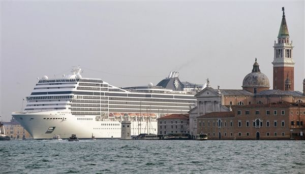 Mega-cruise ships looming over historic harbors spark debate - World News