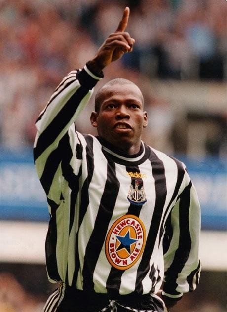 Faustino Asprilla (striker) 1996-98. League apps 48. Gls 9.