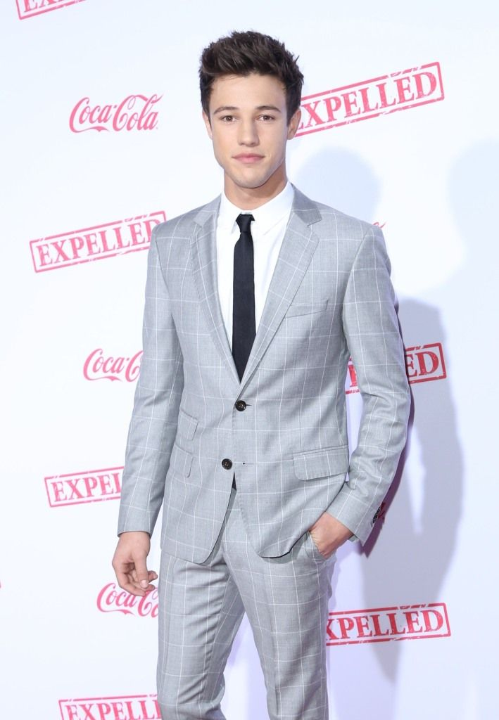Hot Teen Stars Cameron Dallas And Alli Simpson Attend The Premiere Of His Feature Film EXPELLED - http://oceanup.com/2014/12/11/hot-teen-stars-cameron-dallas-and-alli-simpson-attend-the-premiere-of-his-feature-film-expelled/