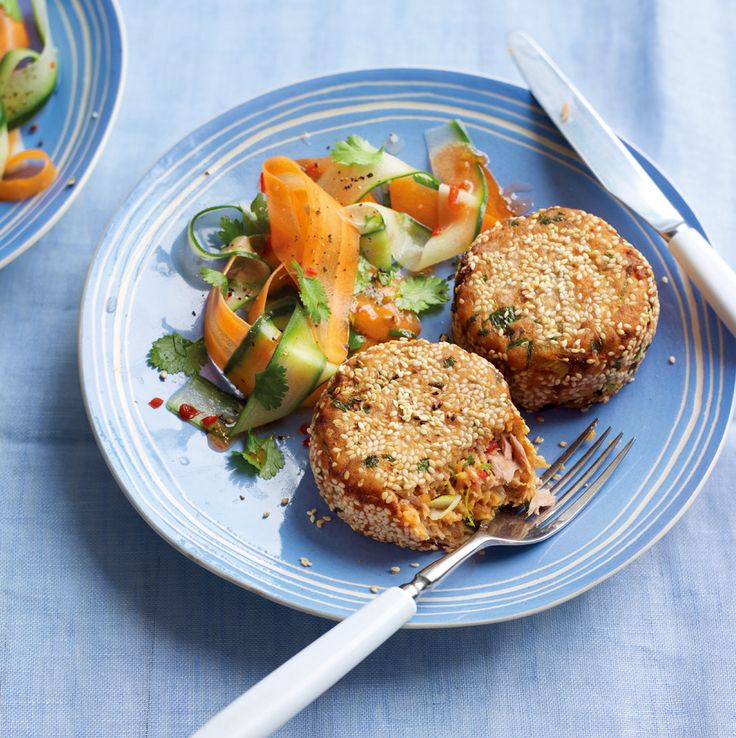 Asda Good Living   Thai-spiced tuna and sweet potato fishcakes