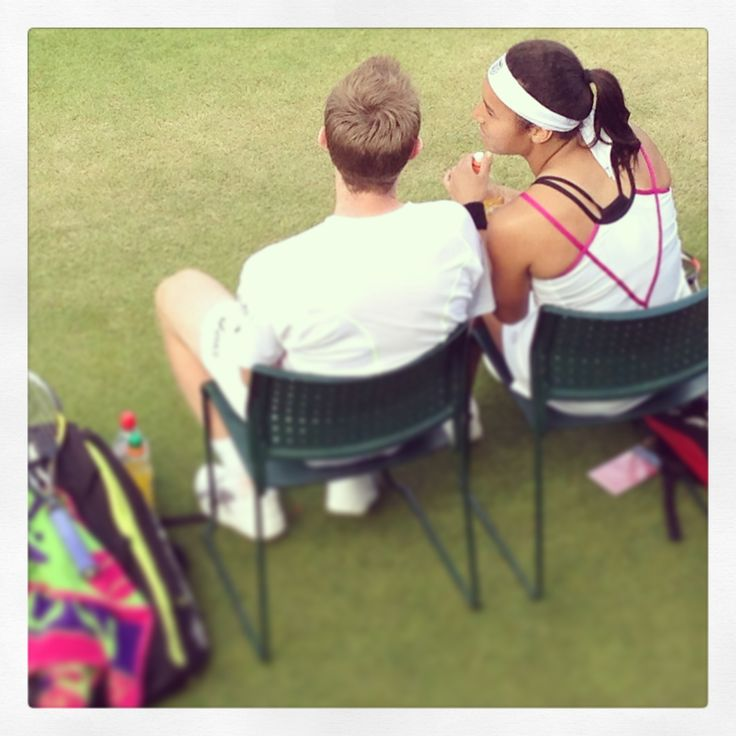 Heather Watson jonny marray #wimbledon2013 #tennis