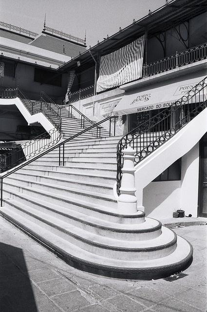 Escaliers à Porto, Portugal