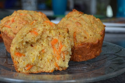 Carrot orange muffins! Taste just like the ones Tim Horton's used to have! :)