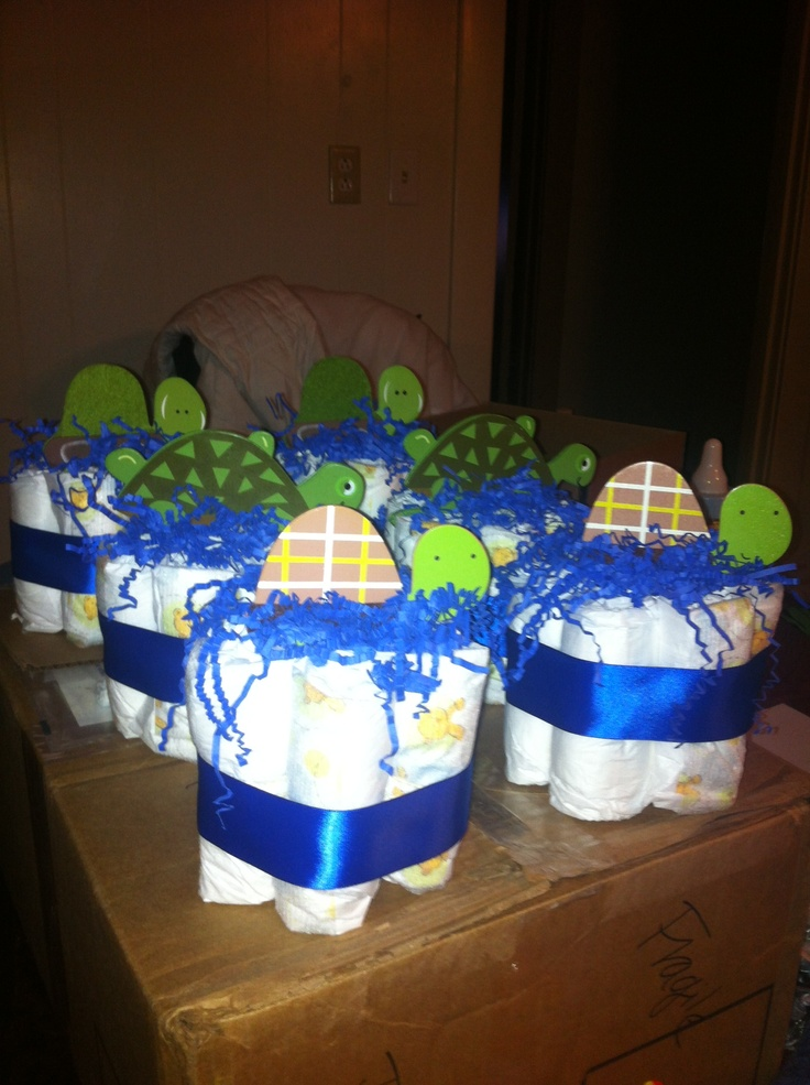 Turtle Baby Shower Centerpieces Baby Showers Pinterest