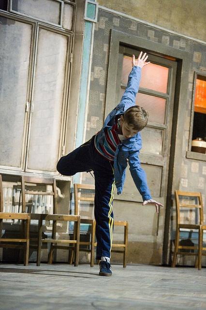 Tade Biesinger (Billy Elliot) photo by Alastair Muir by Billy Elliot Musical, via Flickr