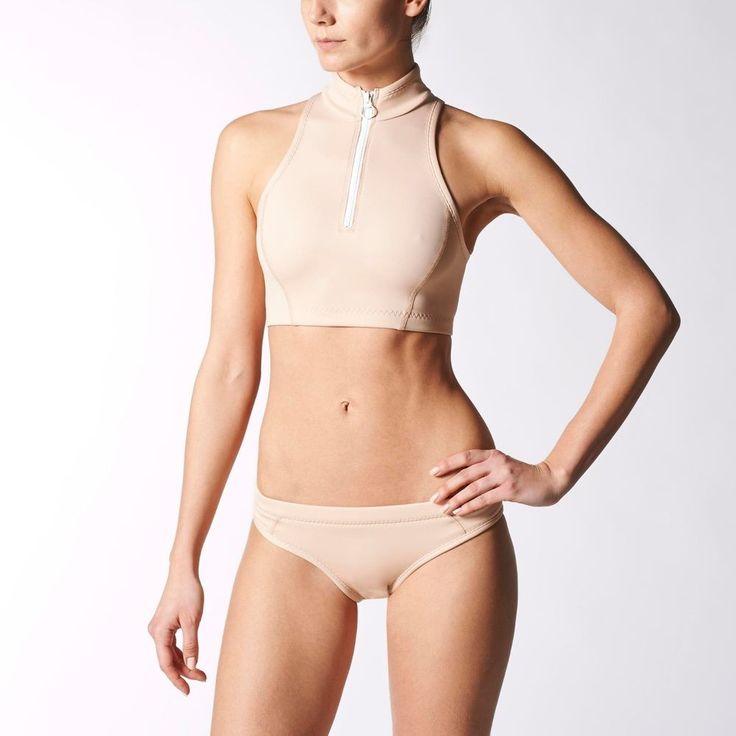 Adidas  Stella McCartney Women's Swim Crop Top- Fashion  LIMITED !!!!!!!!!! in Kleidung & Accessoires, Damenmode, Fitnessmode   eBay!