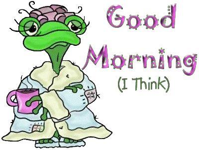Immagini Good morning - Bonjour