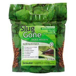Spectacular Slug Gone Organic Slug Repellant Deterrent Wool Pellets ltr Bag