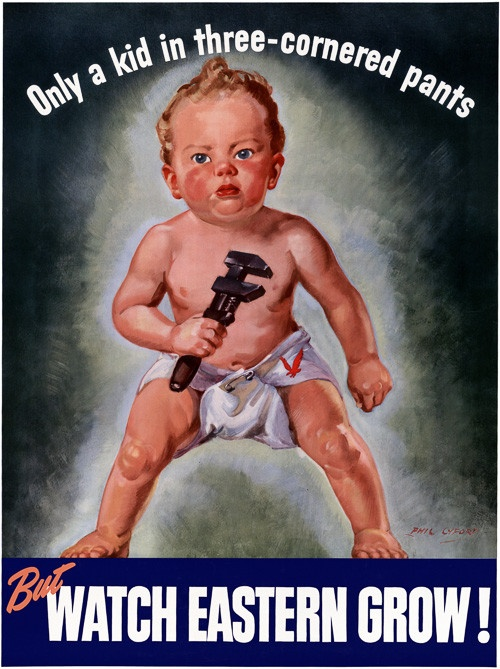 Three-Cornered Pants #vintage #baby #wwii #aircraft #cute