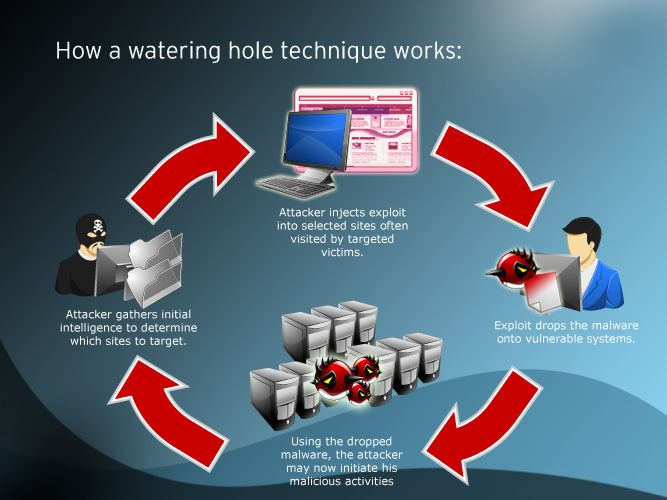 How to #deal with a #Watering #Hole #Attack?