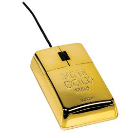 Ratón lingote de oro SZ-UGB100 Teclados y ratones PC Imagine #raton #mouse #lingote #oro #gold