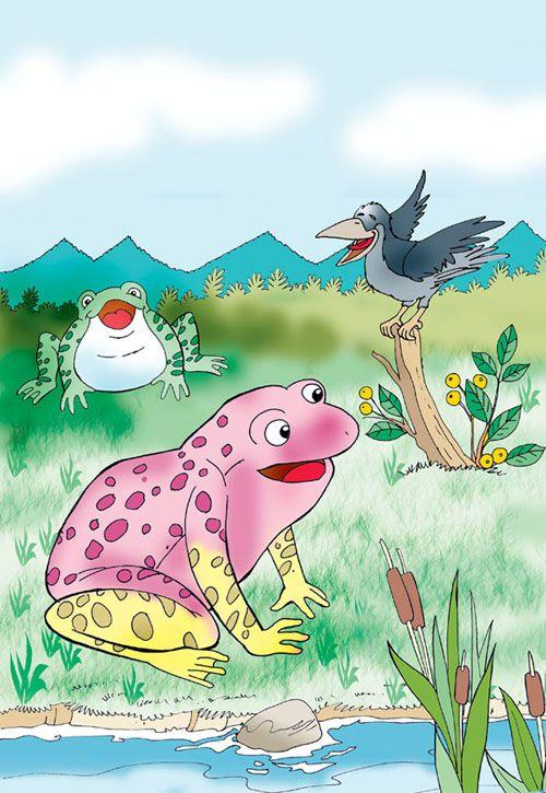 Pembe sarı kurbağa