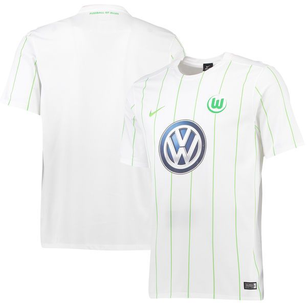 VfL Wolfsburg Nike 2016/17 Away Jersey - White - $99.99