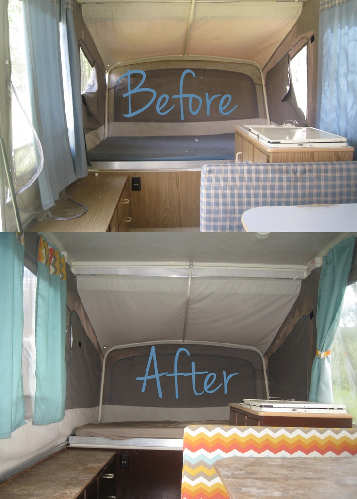 Quot Our Camper Renovations Quot Camping In Style Pinterest