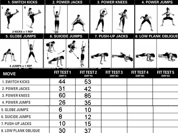 WwwInsanity Workout  Guiler Workout