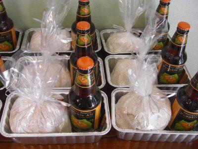 beer bread favors! Great Idea!